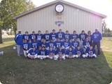 Memorial Middle School Football Most productive season in 9 years.